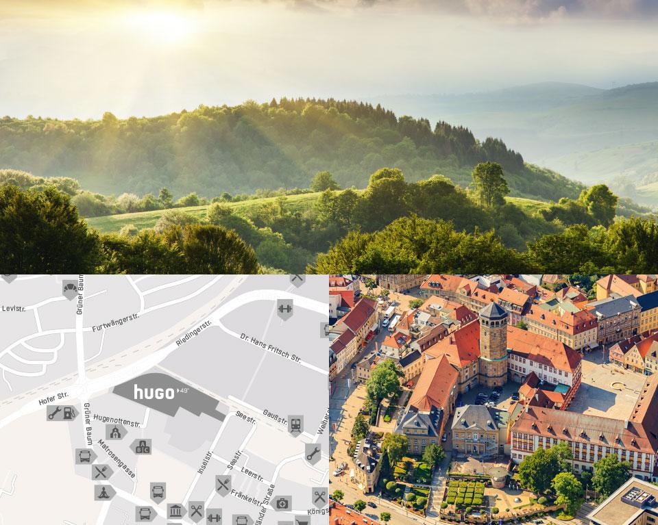 hugo49 | Leben in Bayreuth | Exzellente Lage