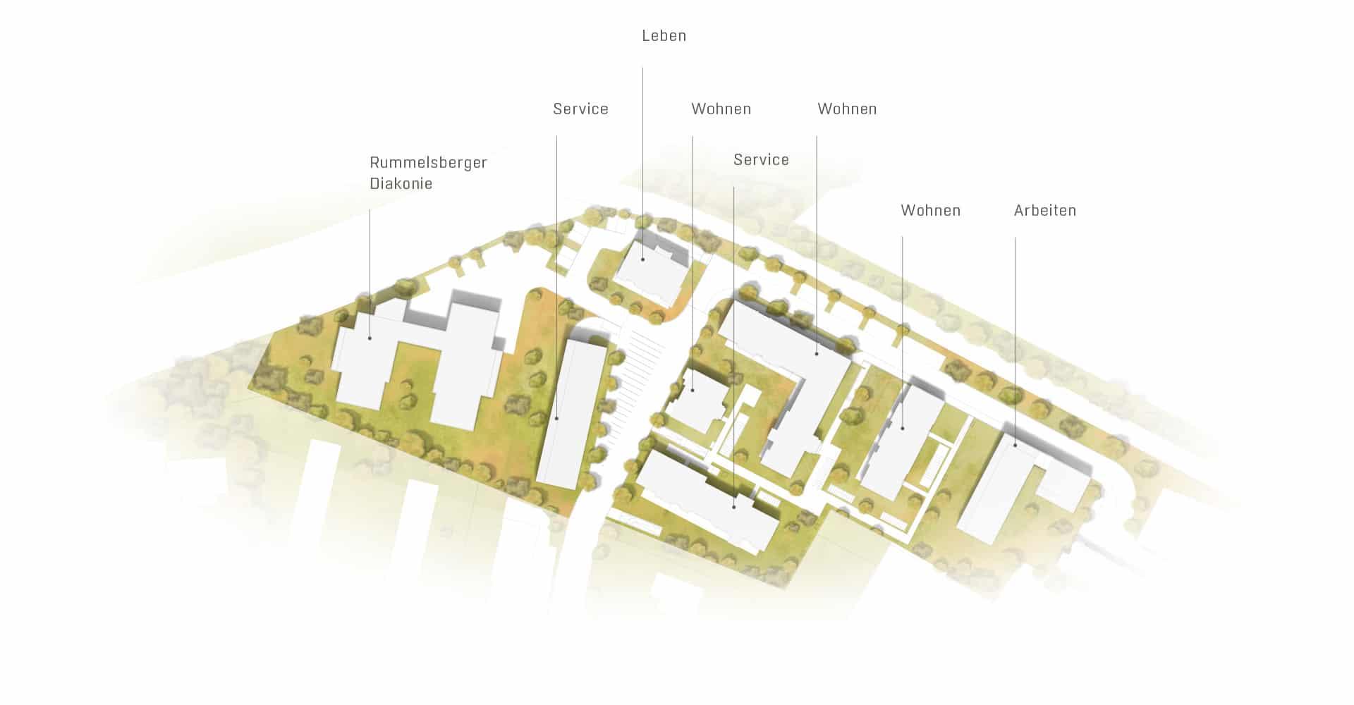 hugo49 | Wohnen in Bayreuth | Lageplan des Stadtquartiers