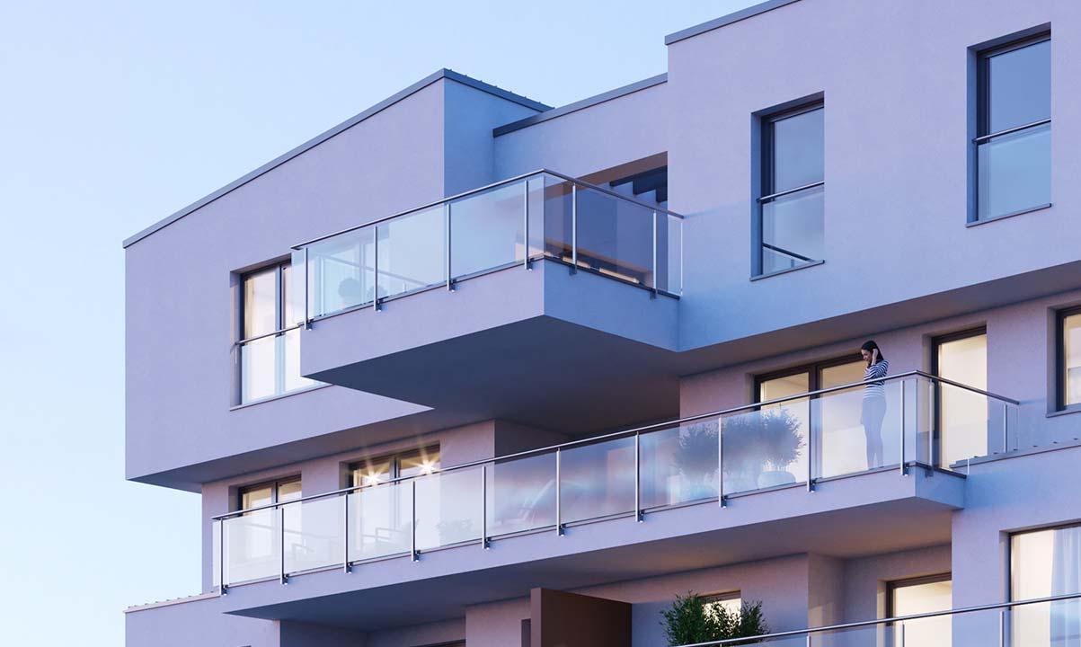 hugo49 | Penthouse Wohnung in Bayreuth | Balkon und Terrasse