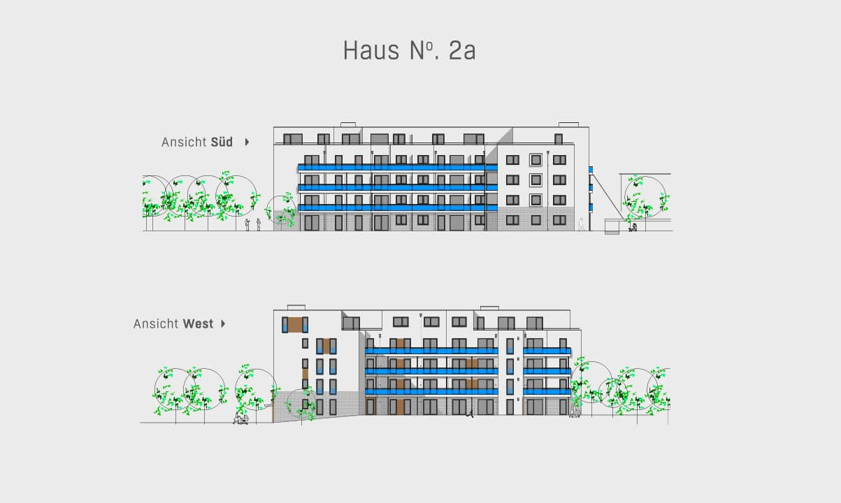 hugo49 | Wohnungen in Bayreuth | Haus 2a Ansicht