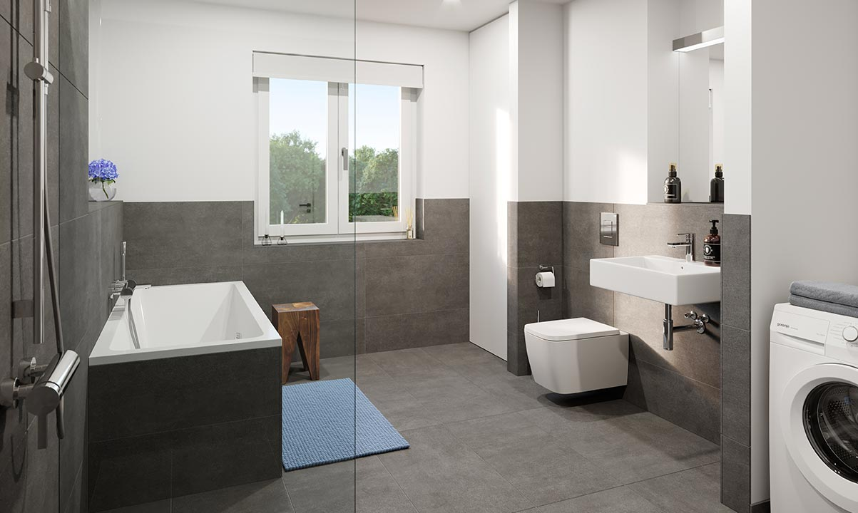 hugo49 | Wohnen in Bayreuth | Badezimmer | Ausstattung