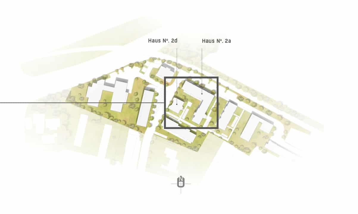 hugo49 | Wohnungen in Bayreuth | Stadtquartier | Lageplan