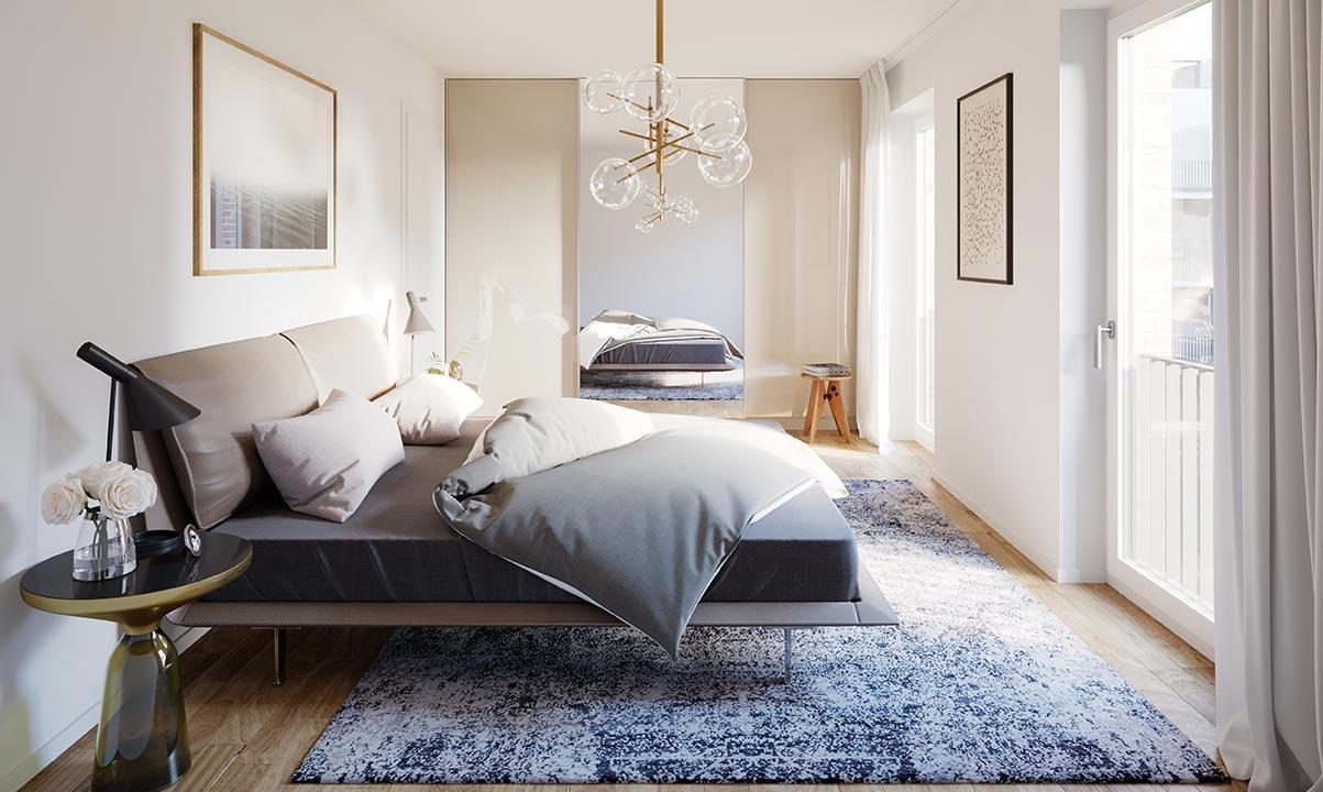 hugo49 | Wohnungen in Bayreuth | Schlafzimmer