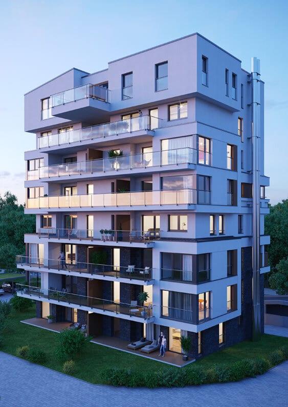 hugo49 Turm im Stadtquartier